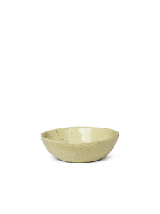 Bilde av Flow Bowl - Yellow Speckle Small