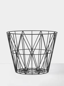Bilde av Wire Basket - Black - Medium