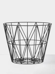 Bilde av Wire Basket - Black - Large