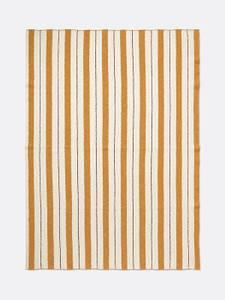 Bilde av Pinstripe Blanket - Mustard