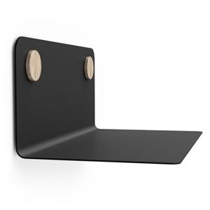 Bilde av Hylle svart med dots 35cm