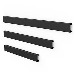 Bilde av Kitchen Rack svart list 60cm