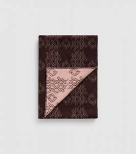 Bilde av Wood Blanket Print Brown