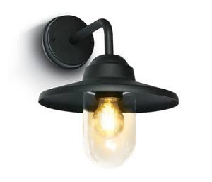 Bilde av Hvaler Vegglampe Sort E27 40W
