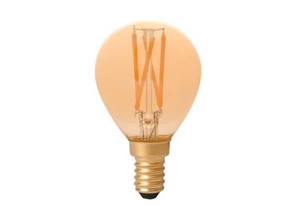 LED illum FLM E14 GOLD 3,5W 200lm DIM
