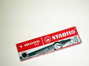 Bilde av Refill til Stabilo S`Move kulepenn, sort skrift