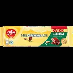 Freia melkesjokolade m/Kvikklunsj