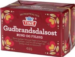 TINE Gudbrandsdalsost (G35) 500g