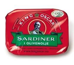 King Oscar Sardiner i olivenolje
