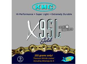 Bilde av KMC X9 gold 9-delt