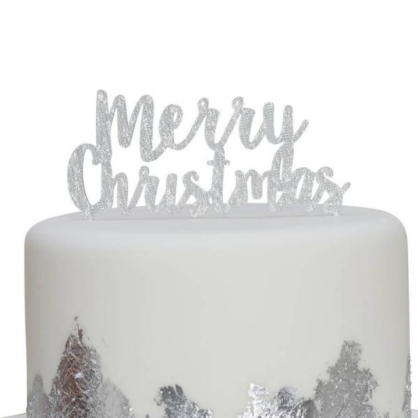 Bilde av Merry Christmas Caketopper