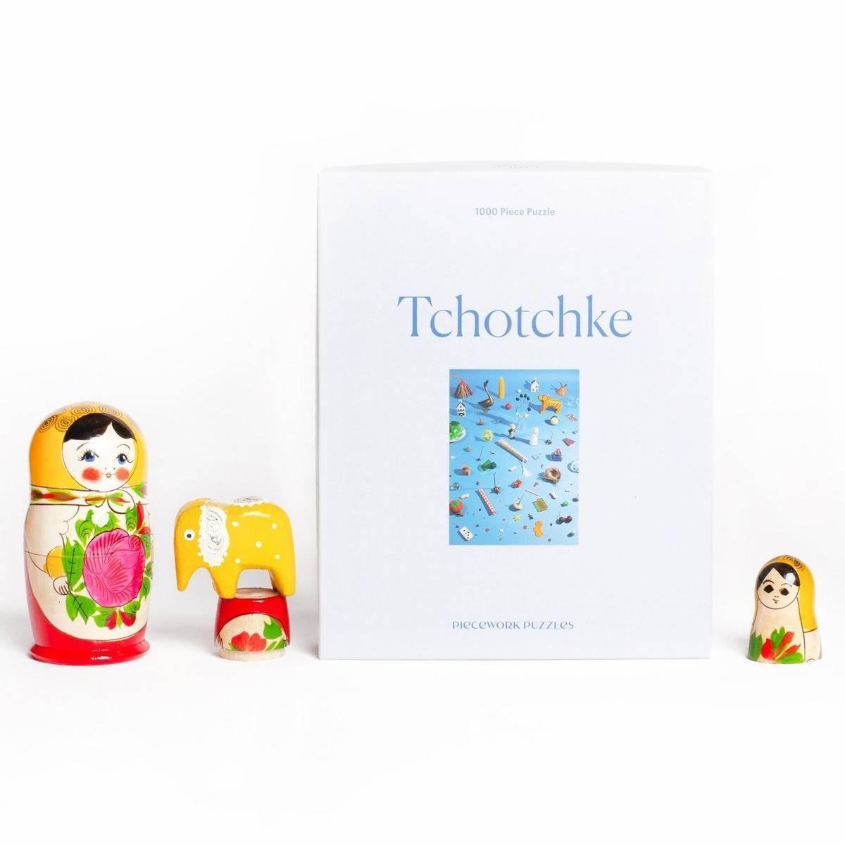 Puslespill - Tchotchke (1000 biter).