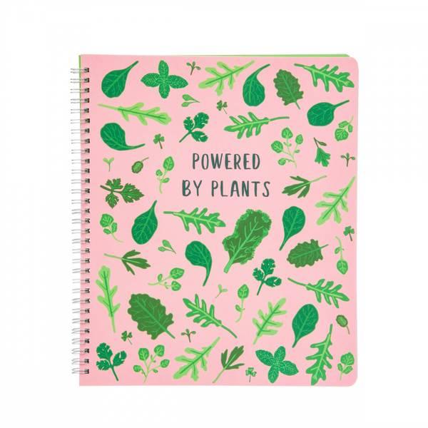 Bilde av Notatbok - Powered by plants