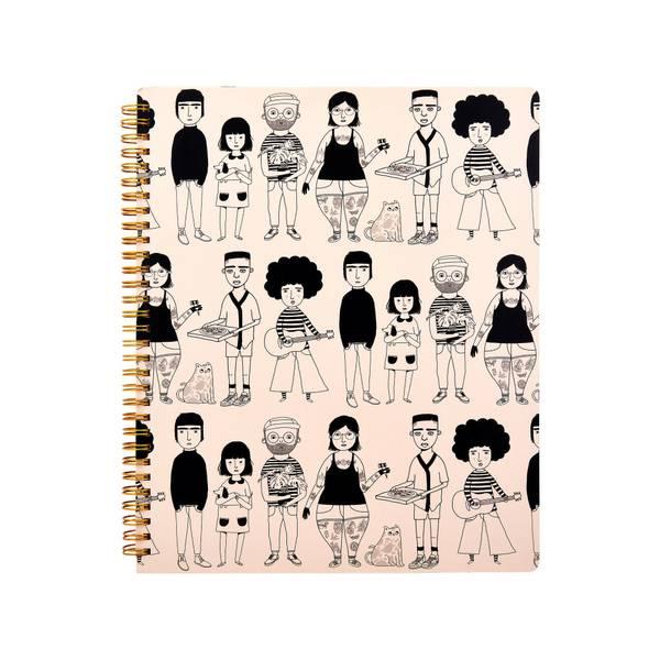 Bilde av Notatbok - My Kind of People