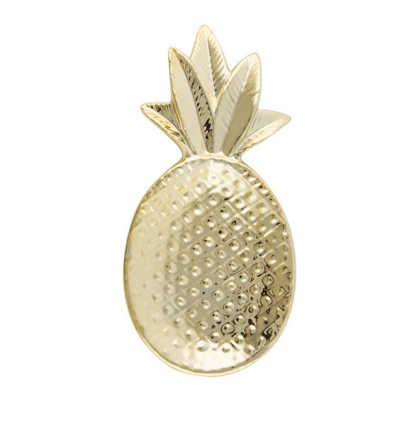 Bilde av Gold Pineapple Shaped Trinket