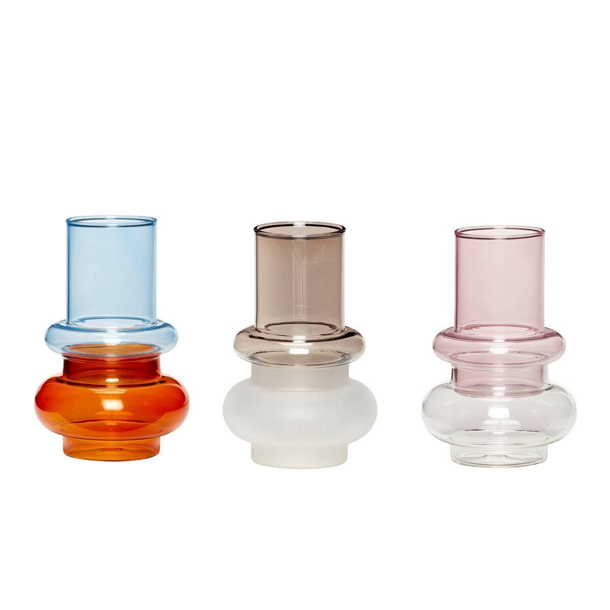 Glassvaser Hübsch - Sett med 3