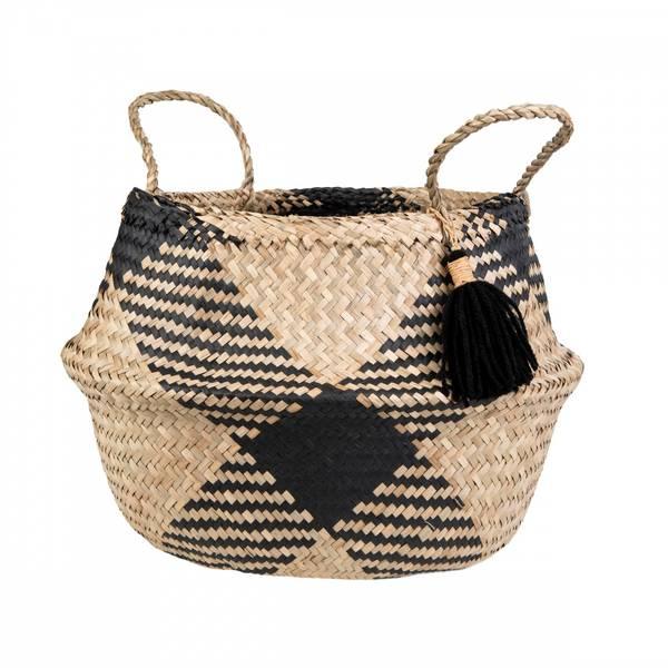 Bilde av Tribal Pattern Tassel Basket