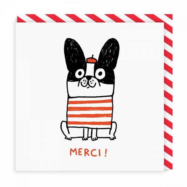 Bilde av Merci Square Card