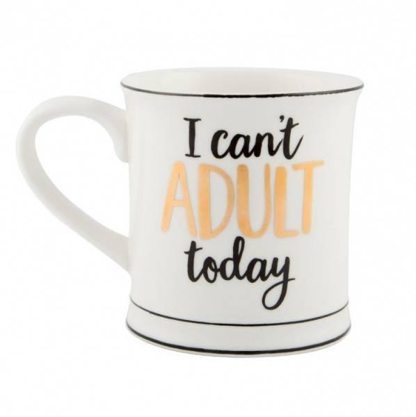Bilde av  I Can't Adult Today - Krus