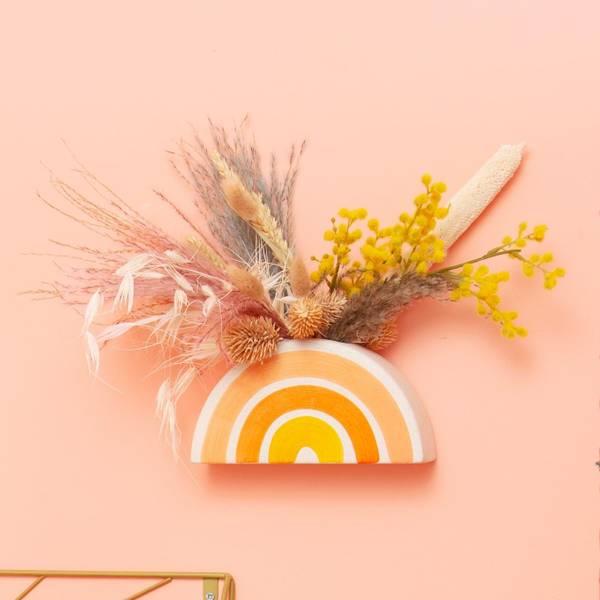 Bilde av Regnbue Vegghengt Potte