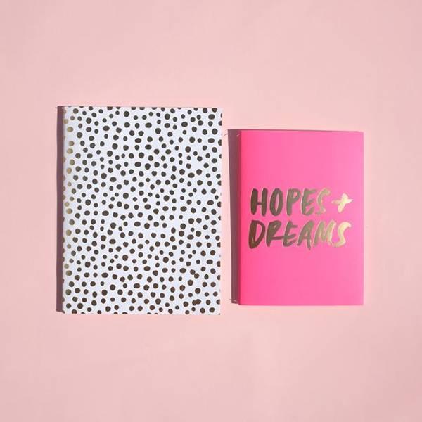 Bilde av Notatboksett - Hopes + Dreams