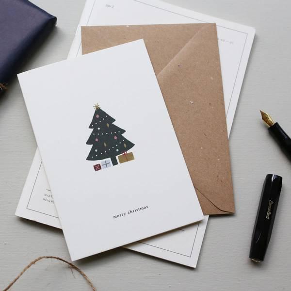 Bilde av Julekort - Juletre