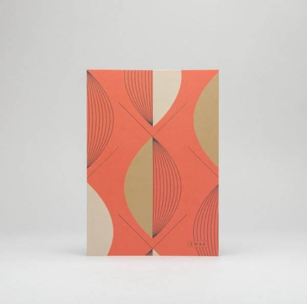Bilde av Notatbok - Softcover Rød