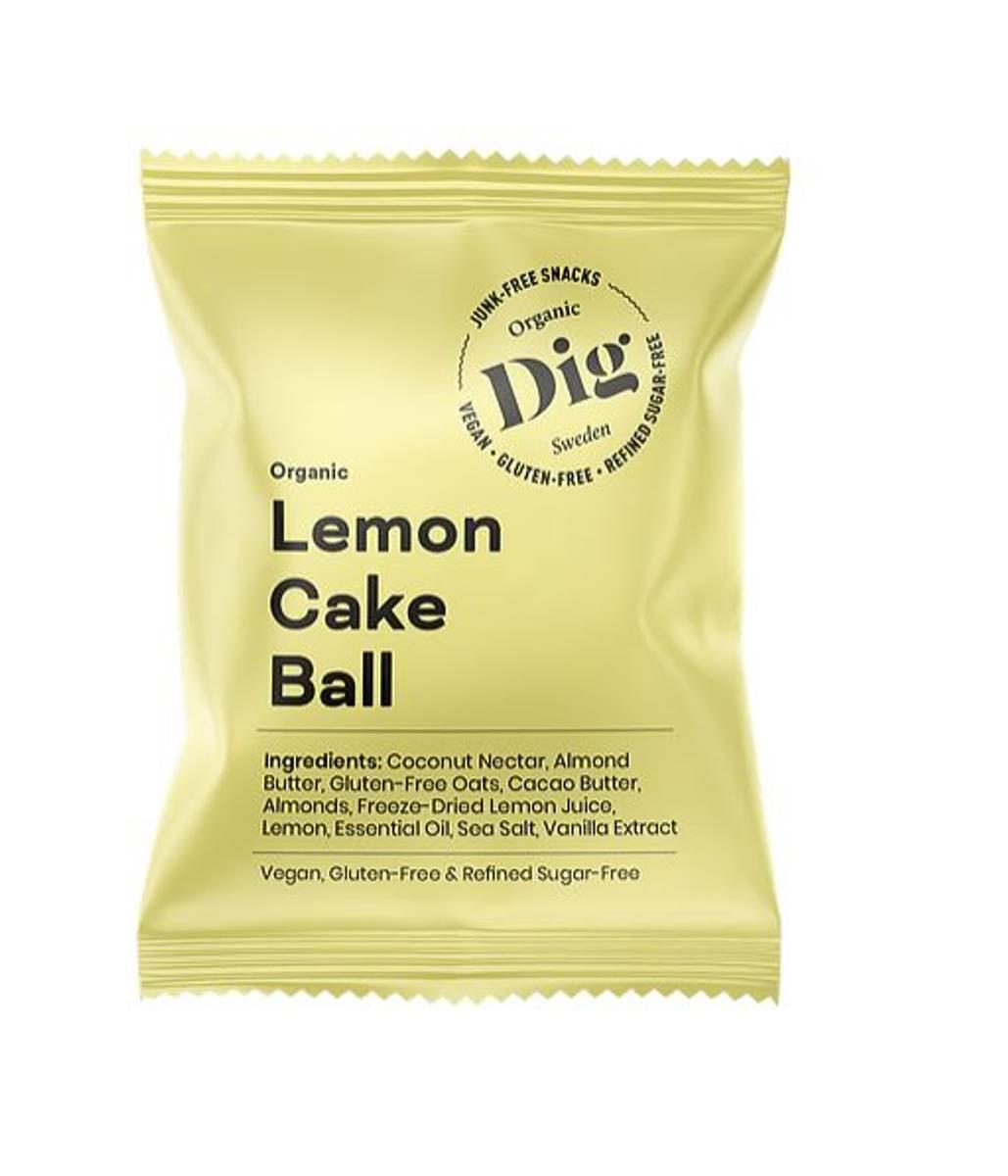 Get Raw - Lemon Cake Ball