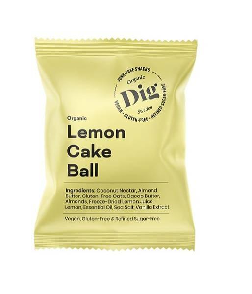 Bilde av Get Raw - Lemon Cake Ball