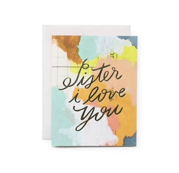 Bilde av Sister I Love You Kort