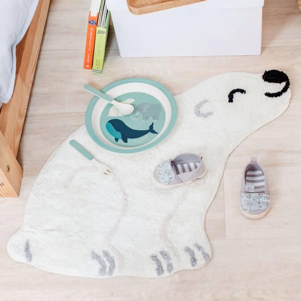 Bilde av Teppe - Isbjørnen Nanook