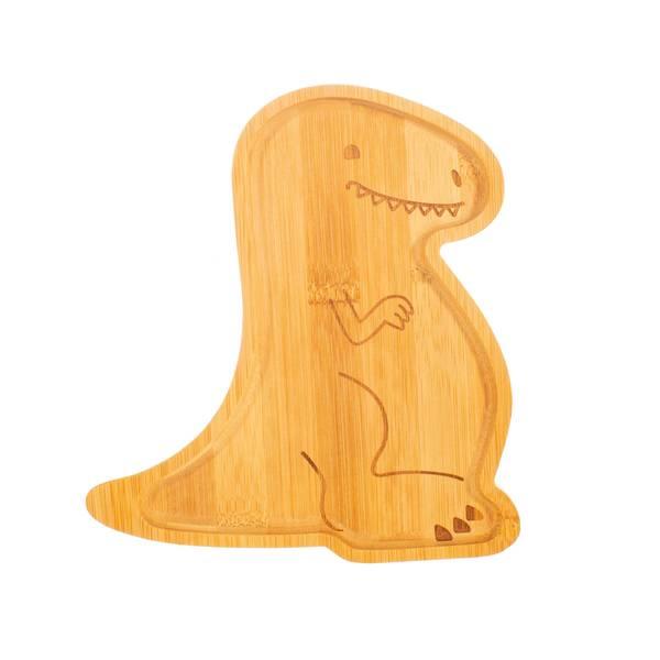 Bilde av Bambustallerken - Dinosaur