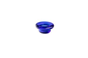 Bilde av Nedre Foss SIRKEL telysestake Cobalt Blue