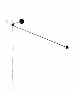 Bilde av LUCEPLAN Counterbalance vegglampe  | SVART