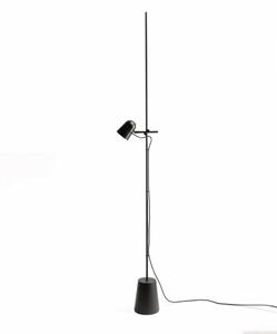 Bilde av LUCEPLAN Counterbalance gulvlampe | SVART
