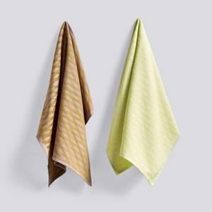 Bilde av HAY Tea towel (set med 2)   | NO. 1 MARKER