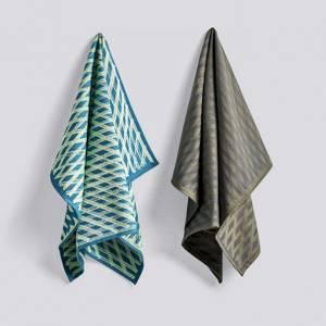 Bilde av HAY Tea towel (set med 2)   |  NO. 3 MARKER