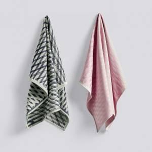 Bilde av HAY Tea towel (set med 2)   |  NO. 4 MARKER