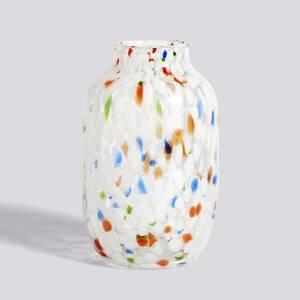 Bilde av HAY Splash vase Large | White Dot