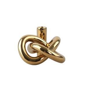 Bilde av COOEE Design LYKKE one lysestake    GOLD
