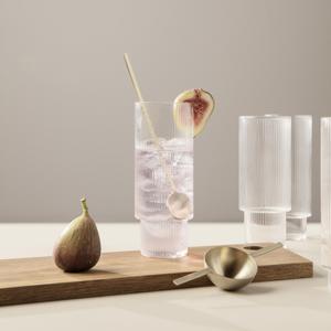 Bilde av Ferm Living RIPPLE Long drink glass set