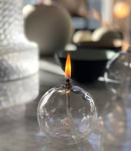 Bilde av Peri Glass OLJELAMPE round  SMALL