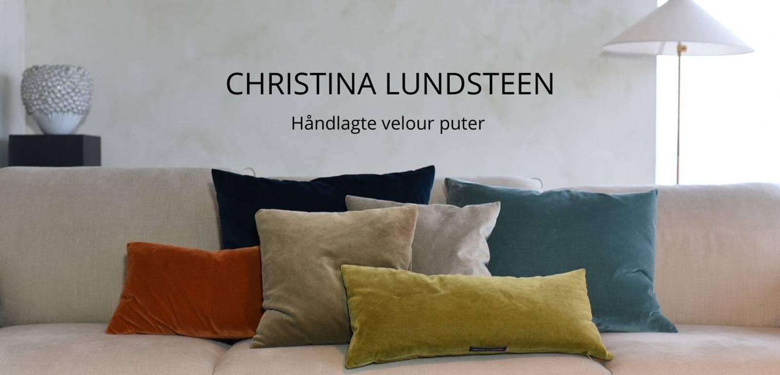 christina lundsteen velour velvet cushions puter dansk design farge fløyel
