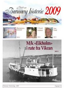 Bilde av Blad av Brønnøy historie 2009