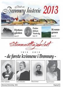 Bilde av Blad av Brønnøy Historie 2013