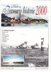Bilde av Blad av Brønnøy historie 2000