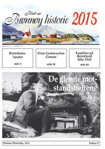 Bilde av Blad av BrønnøyS historie 2015