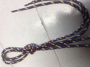 Bilde av Skosnøre flerfarget 61 cm