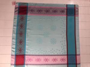 Bilde av 2108 Gravyr sjal , Mint