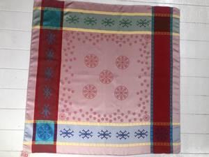 Bilde av 2106 Gravyr sjal, Rød